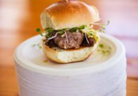 Heureux Beef Slider From The Craft Bar SoWalWine 2018